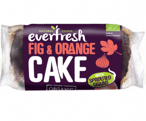Everfresh Organic Fig & Orange Cake Sprouted 350g